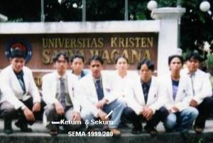 Fungsionaris SEMA FH UKSW 1999/2000
