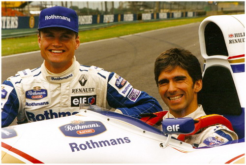 Damon Hill - David Coulthard