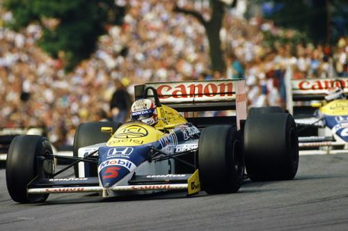 Nigel Mansell, 1986