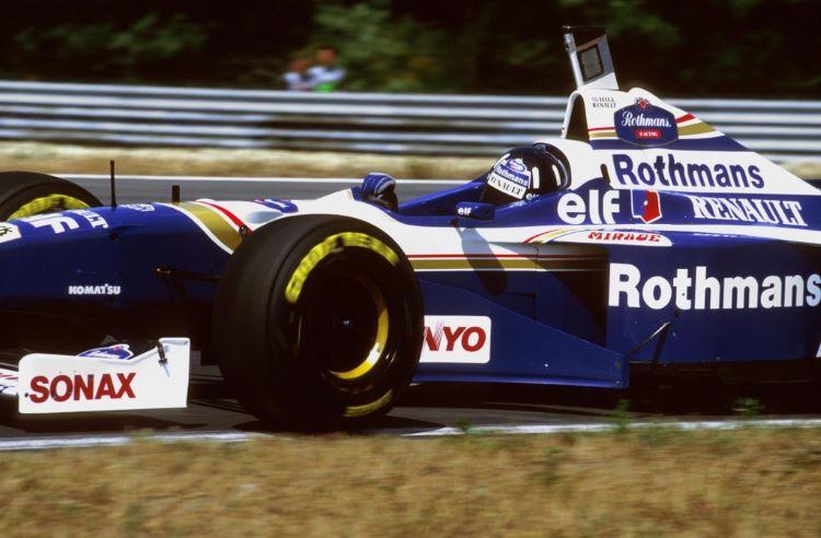 Damon Hill 1996